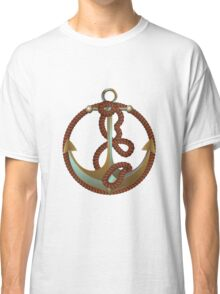 Anchor with rope Classic T-Shirt