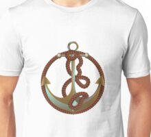 Anchor with rope Unisex T-Shirt