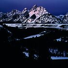 blue teton  by simeon schatz