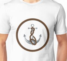 Anchor with rope 2 Unisex T-Shirt