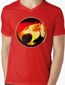Spirit Of The Thundercats Mens V-Neck T-Shirt