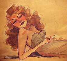 Rita Hayworth by Lifeanimated