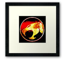 Spirit Of The Thundercats Framed Print