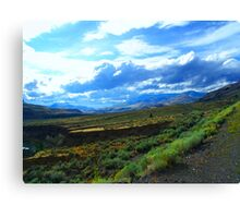Between Kamloops and Cache Creek (1) Canvas Print