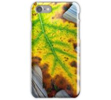 Green Center iPhone Case/Skin