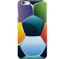 Colorful Soccer Ball iPhone Case/Skin
