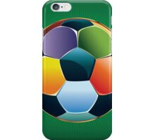 Colorful Soccer Ball 2 iPhone Case/Skin