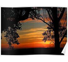 """Coloured Dawn"" Poster"