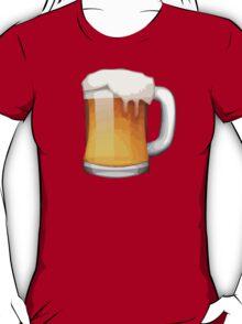 Beer Mug Apple / WhatsApp Emoji T-Shirt