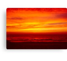 fire from heaven Canvas Print