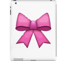 Ribbon Apple / WhatsApp Emoji iPad Case/Skin