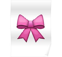 Ribbon Apple / WhatsApp Emoji Poster