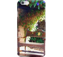 A great place to sit iPhone Case/Skin