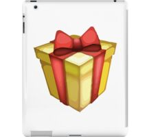 Wrapped Present Apple / WhatsApp Emoji iPad Case/Skin
