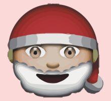 Father Christmas Apple / WhatsApp Emoji Kids Clothes