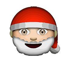 Father Christmas Apple / WhatsApp Emoji by emoji