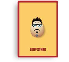 Avengers - Tony Stark Egg Canvas Print