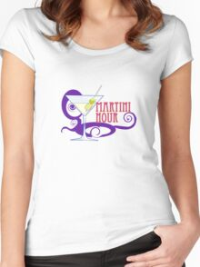 MARTINI HOUR Women's Fitted Scoop T-Shirt