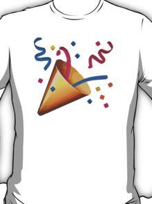 Party Popper Apple / WhatsApp Emoji T-Shirt
