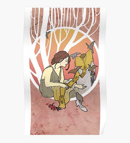 Cinderella´s dress Nouveau Old Stories Poster