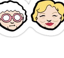 Emoji Golden Girls Sticker