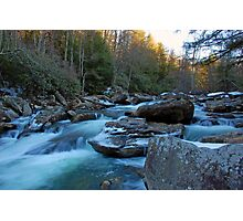 Glade Creek  Photographic Print