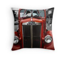 Old Semi Throw Pillow