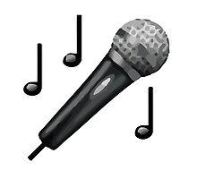 Microphone Apple / WhatsApp Emoji by emoji
