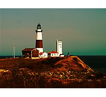 Montauk Lighthouse Photographic Print