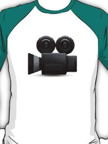 Movie Camera Apple / WhatsApp Emoji T-Shirt