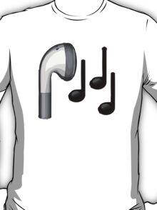 Headphone Apple / WhatsApp Emoji T-Shirt