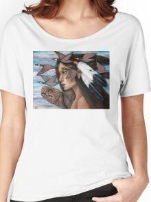 Sky Woman Iroquois Mother Goddess Women's Relaxed Fit T-Shirt
