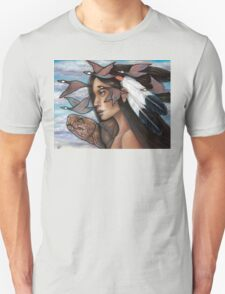 Sky Woman Iroquois Mother Goddess Unisex T-Shirt