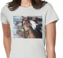 Sky Woman Iroquois Mother Goddess Womens Fitted T-Shirt