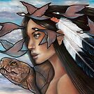 Sky Woman Iroquois Mother Goddess by MoonSpiral