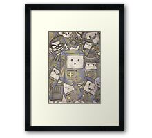 The many faces of bmo! Framed Print