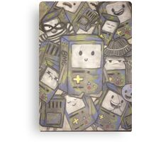 The many faces of bmo! Canvas Print