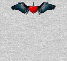 Dagger Heart by ©Fractal Tees T-Shirt