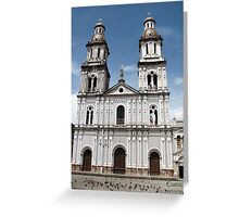 Cuenca Architecture Greeting Card