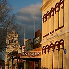 ruralscapes #11, early morning main street by stickelsimages