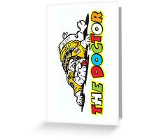The Racer Greeting Card