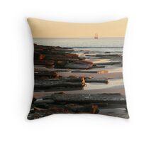 Broome sunset  Throw Pillow