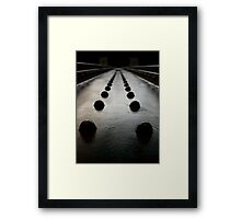 Rivetted in the Past Framed Print