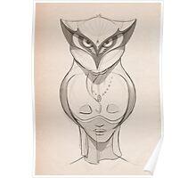 Symbiotic Hoot Poster