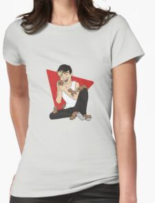 Puppies and the puppy Womens Fitted T-Shirt