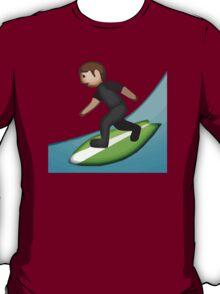 Surfer Apple / WhatsApp Emoji T-Shirt