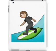 Surfer Apple / WhatsApp Emoji iPad Case/Skin
