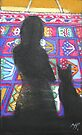shadow cat 1-on persian rug by maria paterson