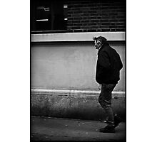 He Walks Photographic Print