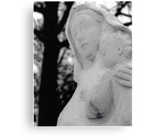 Snow Mary Canvas Print